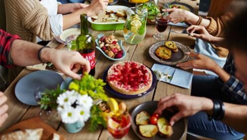 Fællesspisning, permakultur og den spiselige have